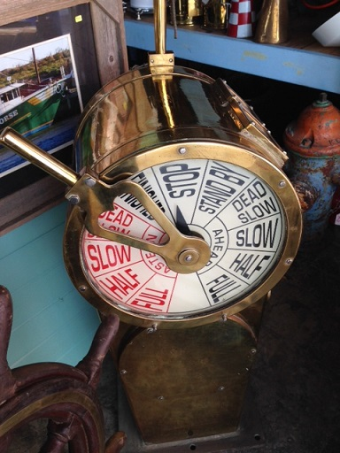 Engine Room Telegraph: Nautical Antique Warehouse