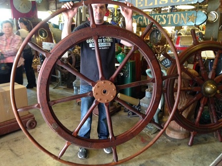 Ship Wheels Nautical Antique Warehouse