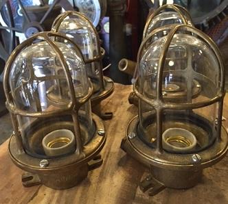 Ship Lights Lanterns Nautical Antique Warehouse