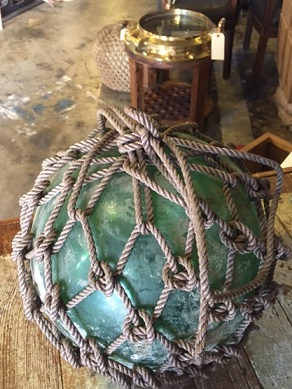 Ship salvage nautical antique warehouse for Hubbards fishing float