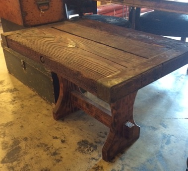 Ship Salvage Nautical Antique Warehouse - Ship hatch coffee table